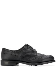 Tricker's Trickers Dainite Sole Derby Shoes Black