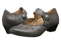 Aetrex Rachel Mary Jane Gray Black Women's Maryjane Shoes