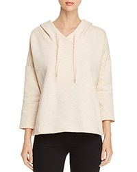 Scotch And Soda Club Nomade Hoodie Rose White