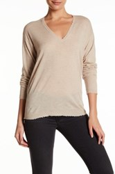 Zadig And Voltaire Apple Cashmere Sweater Beige