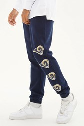 Forever 21 Nfl Rams Fleece Sweatpants Blue Gold