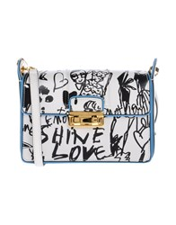 Lanvin Handbags White