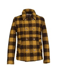 Madson Discount Coats And Jackets Coats Men Ocher