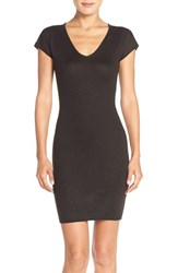 Women's Marc New York Lace Inset Sweater Body Con Dress