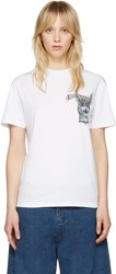 Mcq By Alexander Mcqueen White Bring Me The Head Of The Bunny T Shirt