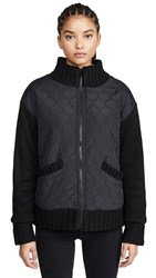 525 America Quilted Fleece Lined Jacket Black