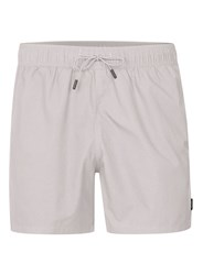 Topman Washed Light Grey Swim Shorts