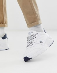 Original Penguin Chunky Trainer In White