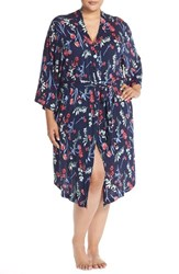 Plus Size Women's Nordstrom Lingerie 'Moonlight' Jersey Robe