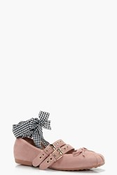 Lily Ribbon Lace Up Ballet