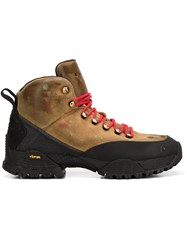 Alyx Chunky Sole Lace Up Boots Brown