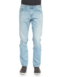 Ag Adriano Goldschmied Graduate 18 Years Straight Leg Jeans Light Blue