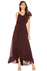 Mes Demoiselles Tango One Shoulder Dress Purple