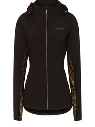 Elle Sport Hooded Lightweight Woven Jacket Black