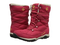 Columbia Minx Fire Tall Omni Heat Waterproof Ruby Acid Yellow Women's Cold Weather Boots Red