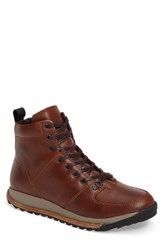 Hood Rubber Men's Holliston Mid Top Waterproof Boot Seahorse Leather