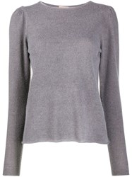 Nude Crew Neck Knitted Top 60