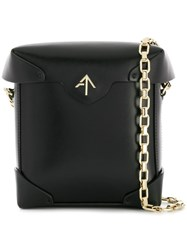 Manu Atelier Mini Pristine Bag Black
