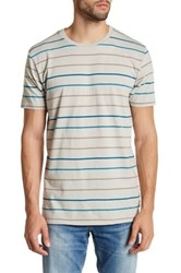 Volcom Antidote Stripe Tee Metallic