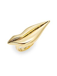 Diane Von Furstenberg Love Is Life Lip Ring Gold