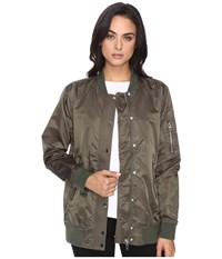 Blank Nyc Olive Bomber Jacket In Flexible Flexible Women's Coat Beige