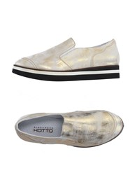 Alexander Hotto Footwear Low Tops And Trainers Women Platinum