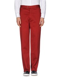 Tommy Hilfiger Trousers Casual Trousers Men Brick Red