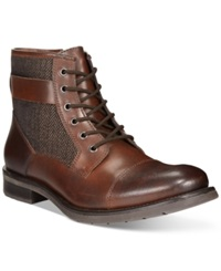 Bar Iii Devin Cap Toe Boots Only At Macy's Men's Shoes Brown