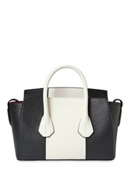 Bally Small Sommet Stripe Grained Leather Bag