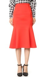 Mcq By Alexander Mcqueen Flared Skirt Flame