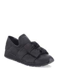 Ld Tuttle The Draw Leather Wedge Sneakers Black