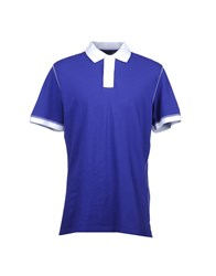 Husky Topwear Polo Shirts Men Purple