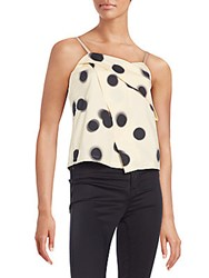 Marc By Marc Jacobs Blurred Polka Dot Tank Top Whey Multi