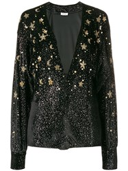 Attico Embellished Star Body Black
