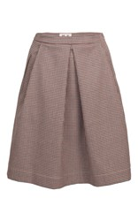 Baum Und Pferdgarten Sheela Pleated Skirt Plaid