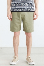 Koto Pull On Linen Short Olive