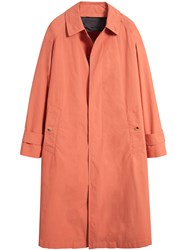 Burberry Reissued Car Coat With Detachable Warmer Pink And Purple