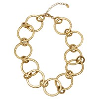 Boden Delphine Statement Circle Necklace Gold