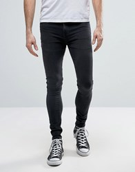 New Look Extreme Super Skinny Jeans In Black Black