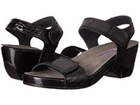 Helle Comfort Alesha Black Combo Women's Dress Sandals