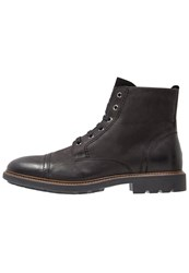 Pier One Laceup Boots Black