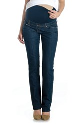 Lilac Clothing 'S Maternity Jeans Vintage Dark Wash