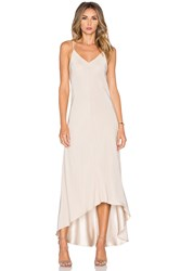 Amanda Uprichard Julia Maxi Dress Taupe