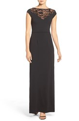 Js Collections Women's Sequin And Stretch Crepe Gown