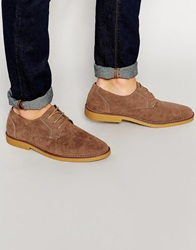 New Look Faux Suede Desert Boots Stone