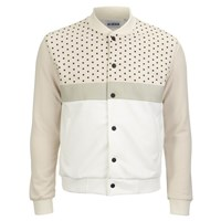 Han Kjobenhavn Men's Fast Dot Pattern Jacket Beige