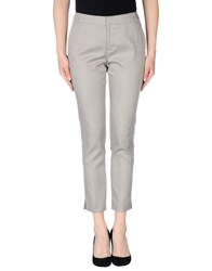Mariella Rosati Trousers Casual Trousers Women Light Grey