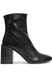 Acne Studios Saul Leather Ankle Boots Black