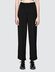 Alexander Wang Soft Suiting Wide Leg Pant With Chain Details