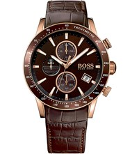 Hugo Boss 1513392 Rafale Rose Gold Plated Stainless Steel Watch